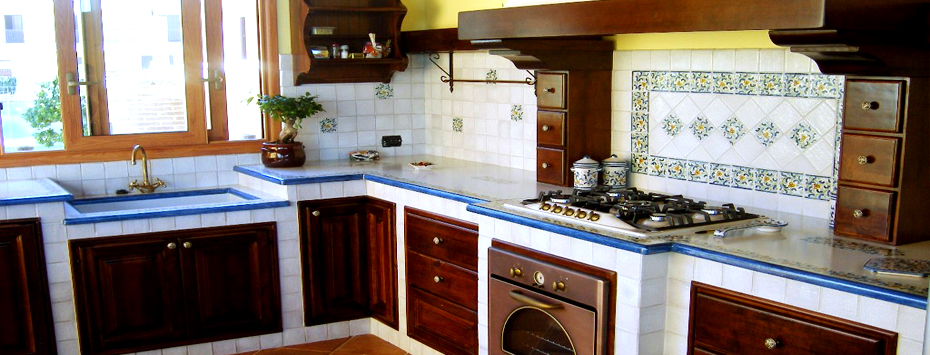 Cucine In Muratura Vietri. Beautiful Awesome Piastrelle With Cucine ...