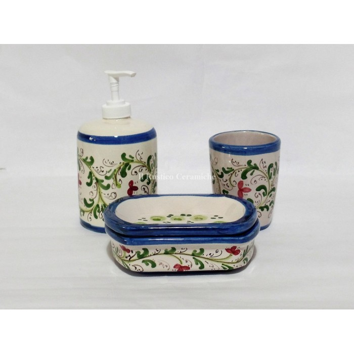 Set accessori bagno in Ceramica
