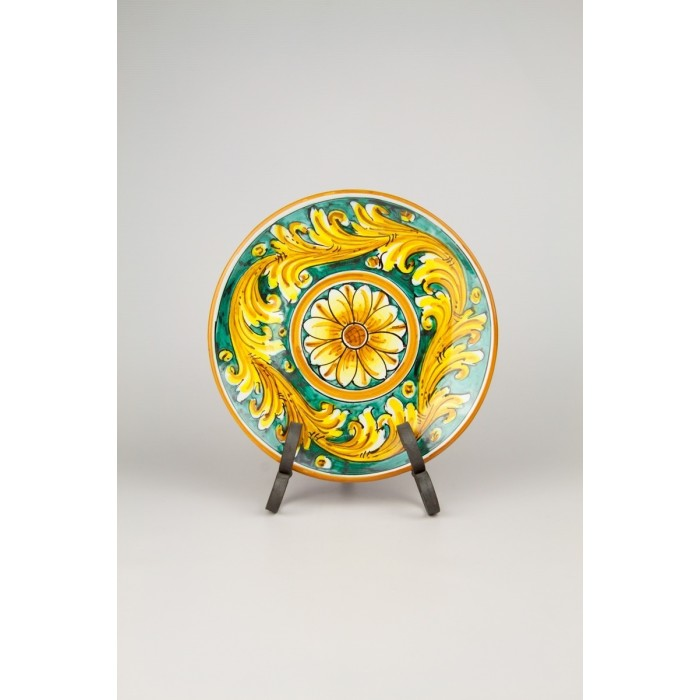 Caltagirone Ceramic D23 Decorative Wall Plate