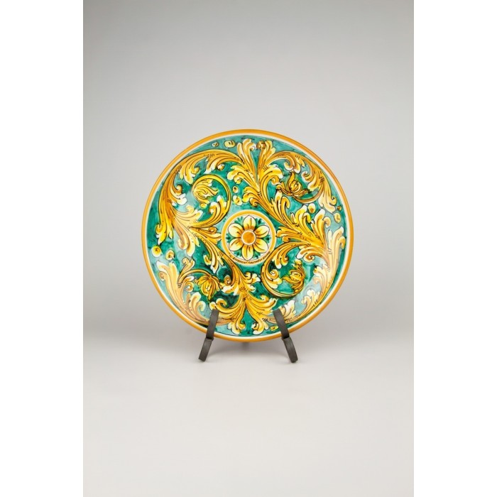 Caltagirone Ceramic D30 Decorative Wall Plate